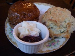Amazing scones! Photo credit  - Lara R , Yelp.