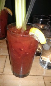 A spicy Bloody Mary is good anytime! Especially w/brunch!