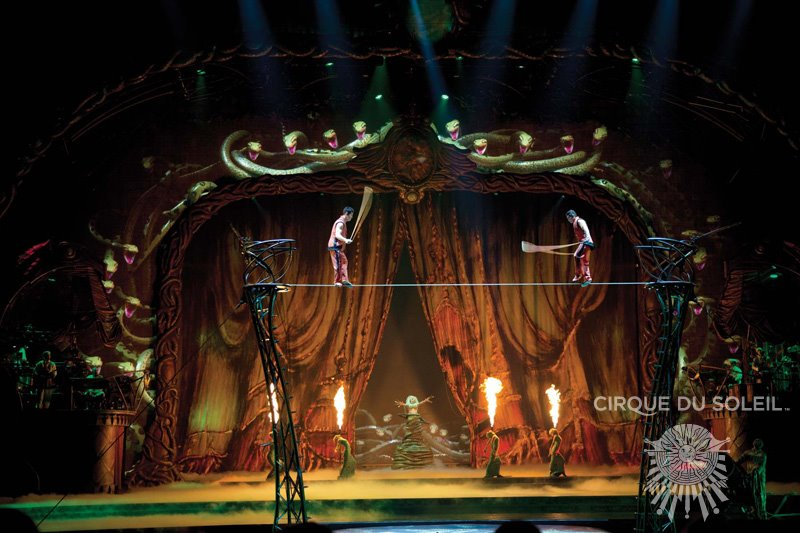 Experiencing Zarkana By Cirque Du Soleil In Nyc The Regular Guy Nyc