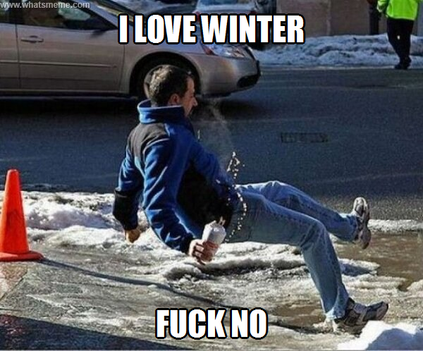 Funny Memes For Winter : The best winter memes collection winter sucks!
